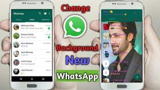 How To Change Whatsapp Background    Fm WhatsApp Full Setting,