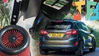 MK8 Ford Fiesta ST - C:Performance Induction Kit Installation, Review & Sound Check 🚗💨