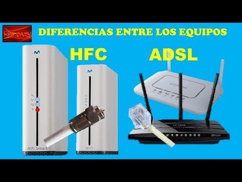 DIFERENCIAS ENTRE LOS EQUIPOS HFC Y ADSL