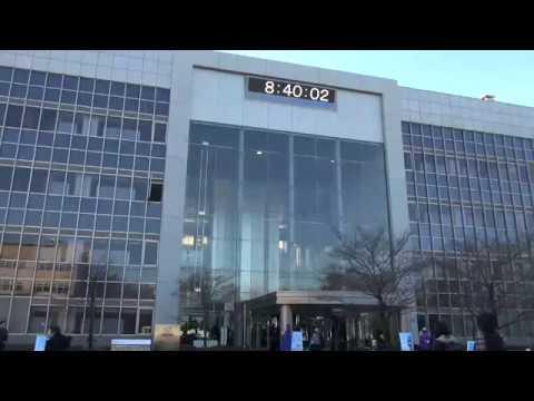うるう秒挿入の時計表示中継 8:59:60 LEAP Second