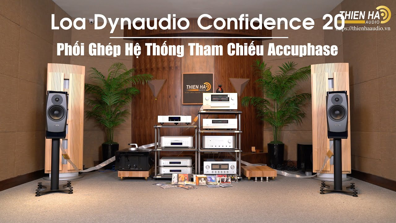 Dynaudio Confidence 20 - Top 10 Loa Bookshelf Hay Nhất Thế Giới - Tham Chiếu Hệ Thống Accuphase