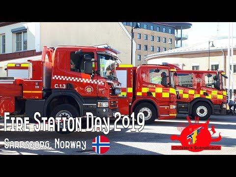 FIRE STATION DAY 2019, Sarpsborg - Norway