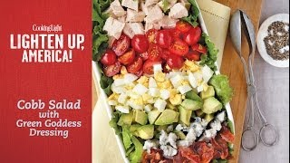 How to Make Cobb Salad with Green Goddess Dressing