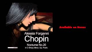 Alessia Forganni, Chopin Nocturne No.20 in C-Sharp Minor, Op. Posth.
