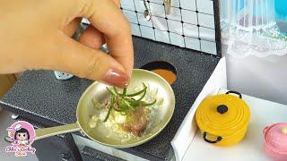 Mini Steak  Beefsteak  ASMR  Cooking with Bryce Hall