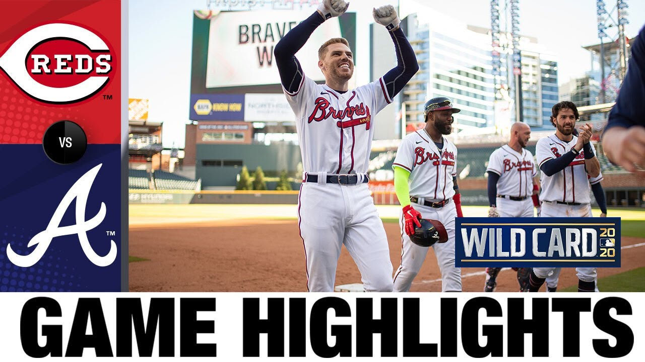 Freddie Freeman's walk-off ends Game 1 pitching duel | Reds-Braves Game 1 Highlights 9/30/20