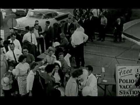 Mass Polio Vaccinations in Columbus, GA - 1961
