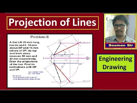 Projection of Lines Problem no 6 thumbnail