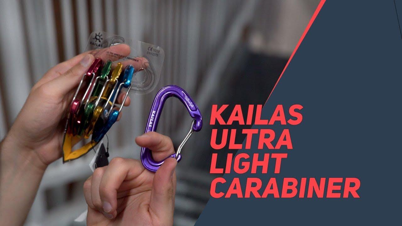 Ultra Lightweight Wire Gate Carabiner Set - Kailas