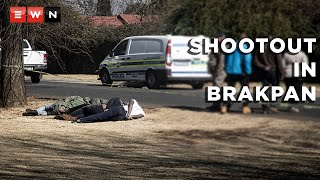 Nineteen suspects were apprehended following a shootout with police near Carnival Mall in Brakpan on 23 July 2021. Police said two other suspects and one SAPS member were also killed in the crossfire. It is alleged that the group was planning to carry out various robberies before they were caught.