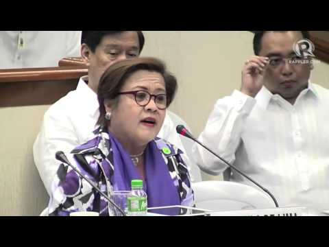 De Lima to Miriam: We have yet to define what the MILF really is