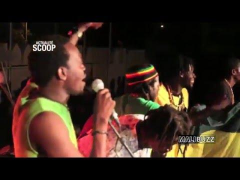 Sound System: RAS BATH au Carrefour des Jeunes lors du MEMORIAL BOB MARLEY 2014