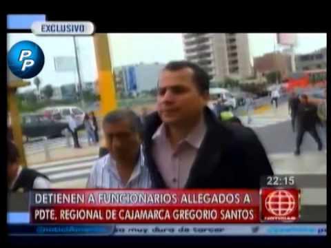 Gregorio Santos y PRO REGION Cajamarca