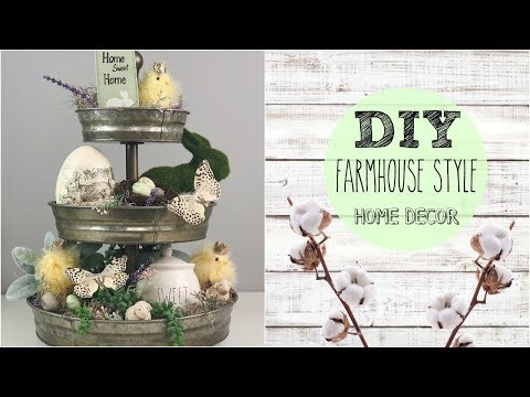 DIY FARMHOUSE DECOR | HOW TO STYLE TIERED TRAYS