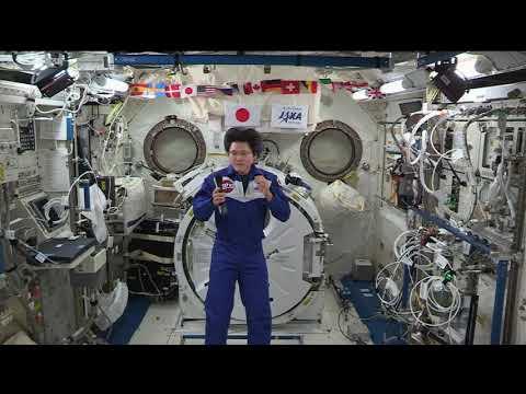 Expedition 55 JAXA Inflight Interview - Tenku
