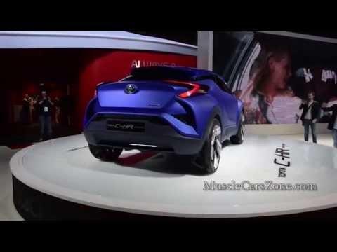 TOYOTA C HR Concept, Lexus NX 200T, Lexus RC 300h  - Paris Motor Show 2014