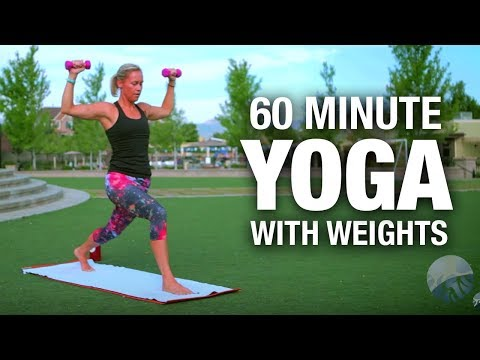 Yoga Fitness Class with weights - 45 Minute - Five Parks Yoga