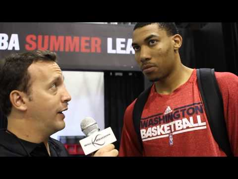2013 NBA Summer League Otto Porter (@o_porter22) Interview - Washington Wizards