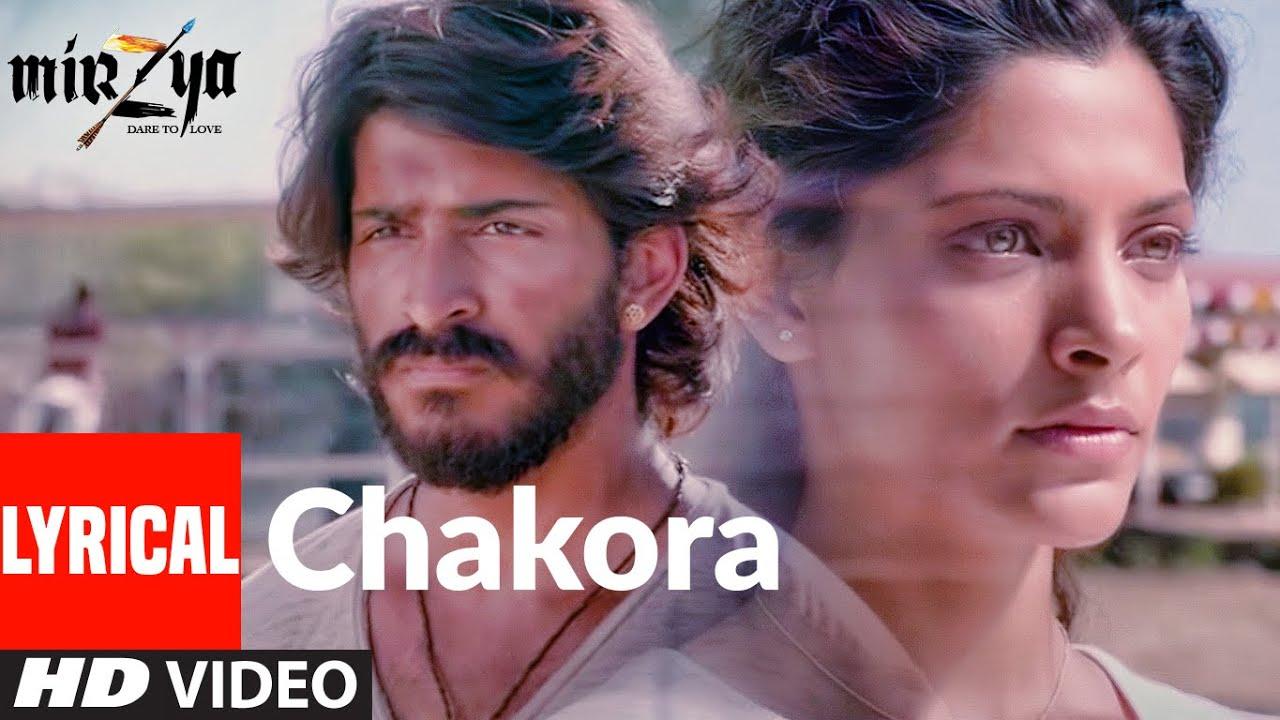 CHAKORA (Lyrical) | MIRZYA | Shankar Ehsaan Loy | Rakeysh Omprakash Mehra | Gulzar | T-Series