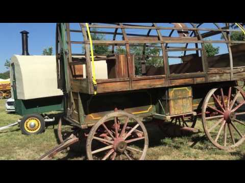 Sheep Wagons at Wyoming State Fair Douglas Wyoming with the World's Best Knife Sharpeners
