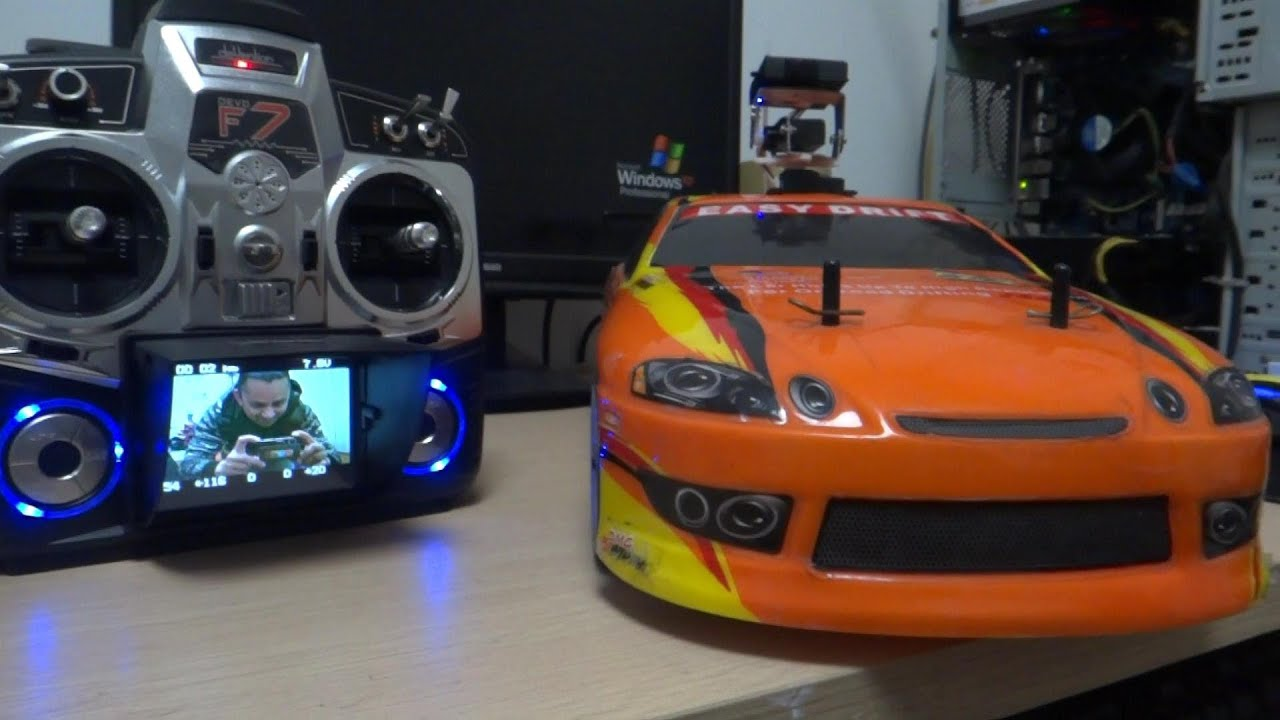 Radio Control Fpv Drift Car On Road Rc Drift Car Youtube