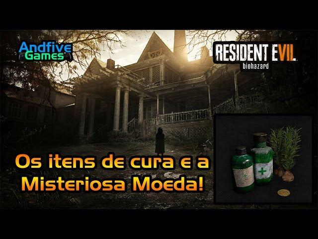 Resident Evil 7 : O que é essa Moeda? Os itens de cura do game?
