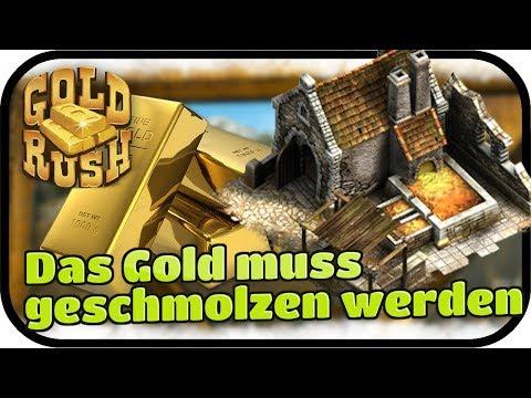 GOLD RUSH The Game #005 - Das Gold muss geschmolzen werden ★ Der Goldgräber Simulator   Gameplay, De