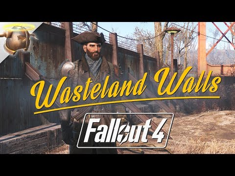 FALLOUT 4: Wasteland Defensive Wall mod for your settlements! (Xbox and PC)