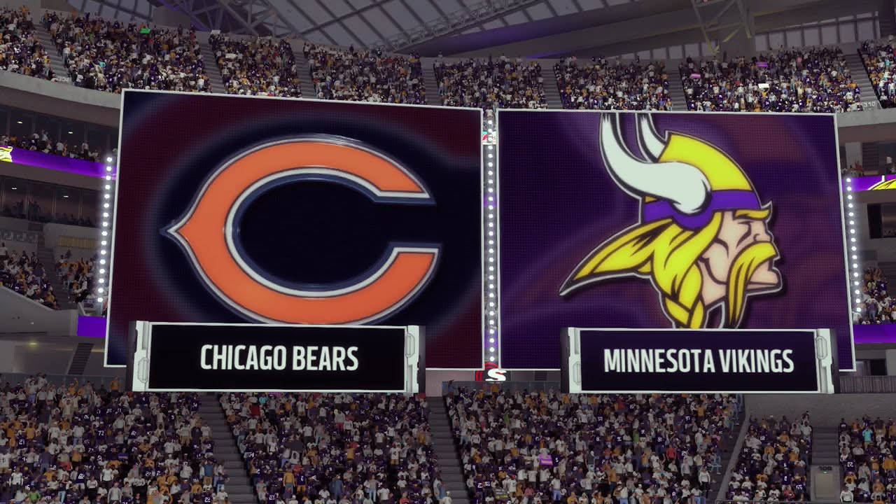 Image result for Chicago Bears vs. Minnesota Vikings