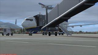 Ryanair Boeing 737-800 | Aeropuerto De Malaga LEMG to Amsterdam Schipol EHAM 👨✈️🛫 FSX/Vatsim