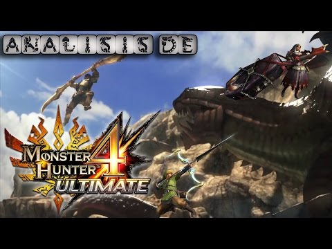 Análisis Monster Hunter 4 Ultimate