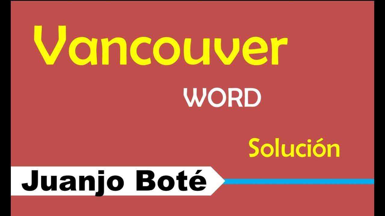 Normas Vancouver - Agregar estilo Vancouver en Word Solución - YouTube