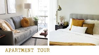 Small Apartment Tour in Downtown San Diego // Eclectic Interior Style