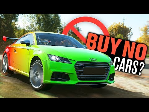 Complete Forza Horizon 4 WITHOUT Buying ANY CARS?