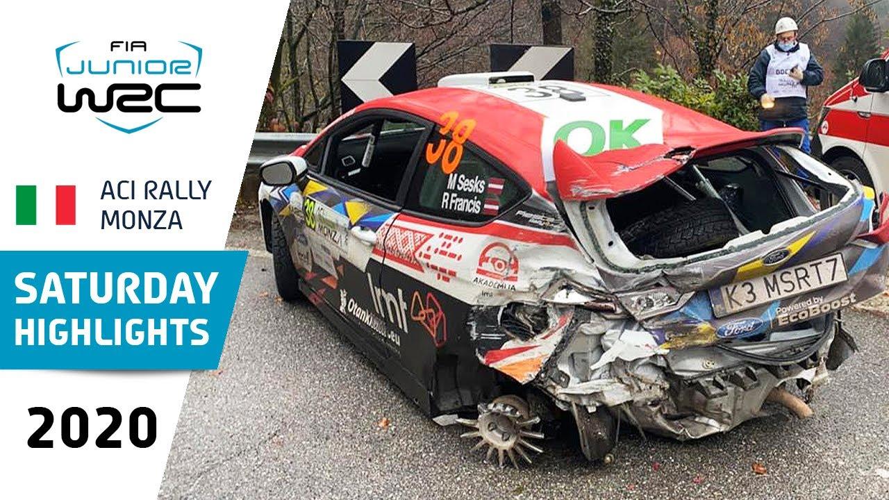 Junior WRC - ACI Rally Monza 2020: Saturday Highlights