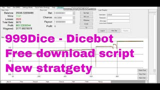 New 999Dice Trick - Dicebot scripts V8 - Free download