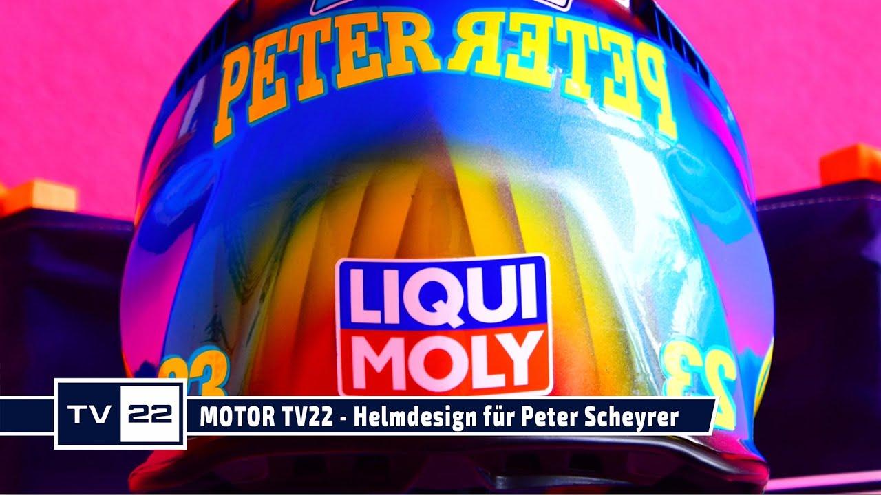 MOTOR TV22: Helmdesign by Brückl Design für Peter Scheyrer
