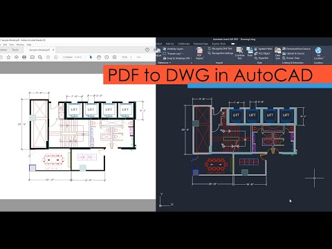 Adding PDF To AutoCAD As DWG File With Correct Scale