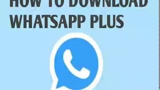 Gambar cover How To Download Whatsapp Plus|| by Ameer Hamza
