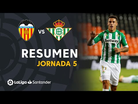 Valencia Betis Goals And Highlights