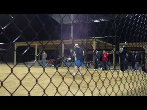 Jeff Wallace hitting in Boone's Home Run Derby