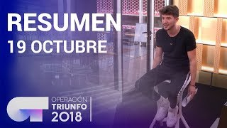 Resumen diario OT 2018 | 19 OCTUBRE