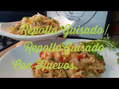Download REPOLLO GUISADA/REPOLLO CON  HUEVOS/COL GUISADO CON HUEVOS.😋😋😋