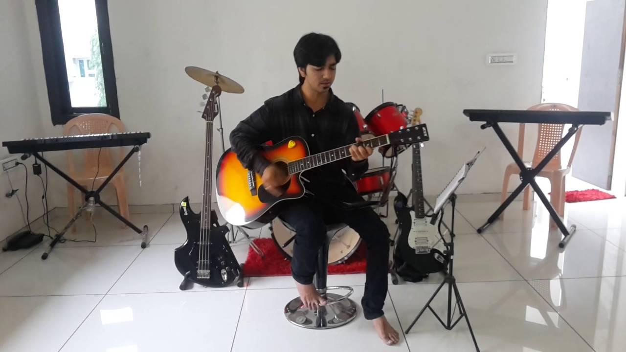 Yeh Dosti Hum Nahin Todenge Guitar Chordscoverraj Shah Youtube