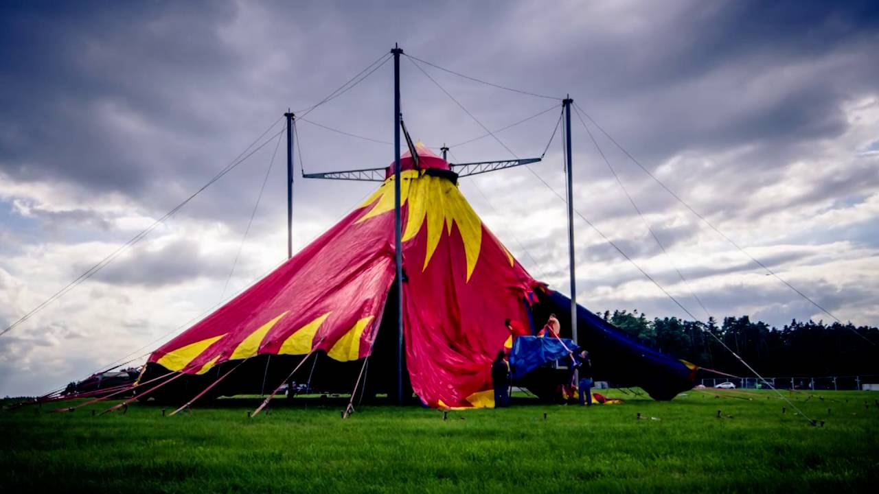 SUMMER BREEZE Open Air 2016 - C&site Circus Tent Setup [Time Lapse] - YouTube & SUMMER BREEZE Open Air 2016 - Campsite Circus Tent Setup [Time Lapse ...