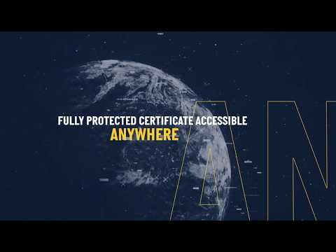 Breitling blockchain-based digital certificate