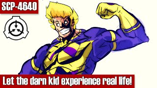 SCP-4640 Let the darn kid experience real life! | Keter class | dr wondertainment / humanoid scp