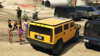 GTA V   OFFROAD & SUV CARS MEET    GTA 5