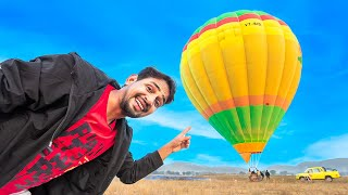 We Fly India's Biggest Hot Air Balloon - Worth ₹ 1Crore...