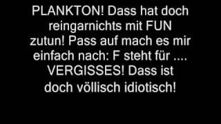 Spongebob FUN song Deutsch mit TEXT